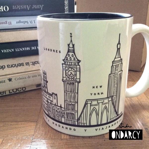 taza personalizada london