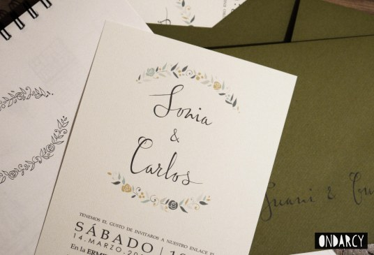 invitacion boda wedding