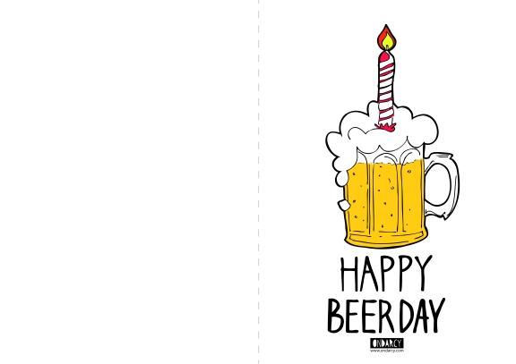 2015-09-11 Imprimible Cumpleaños BEERDAY