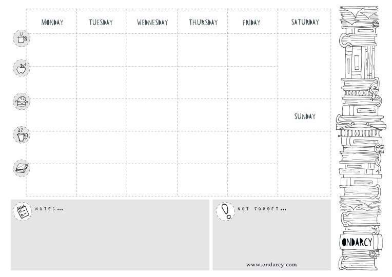weekly-free-planner